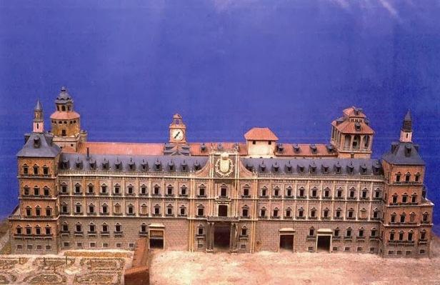 Juan Gómez de Mora: Maqueta del Alcázar de Madrid. Museo de Historia de Madrid.