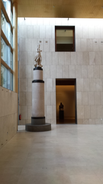 Vista del Hall de entrada del Museo de Historia de Madrid.