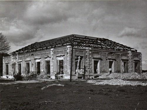 Imagen de la Zarzurla tras la Guerra Civil española.