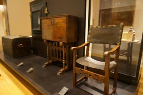 Mobiliario perteneciente al Siglo de Oro. Foto @Unsereno