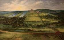 Jan Brueghel: Vista del Palacio de Mariemont, 1612.
