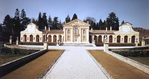 Andrea Palladio: Villa Barbaro en Maser, ca. 1560.