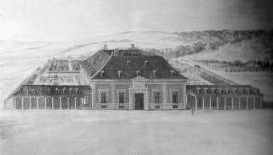 Anónimo madrileño: Vista de la Zazuela. Patrimonio Nacional.