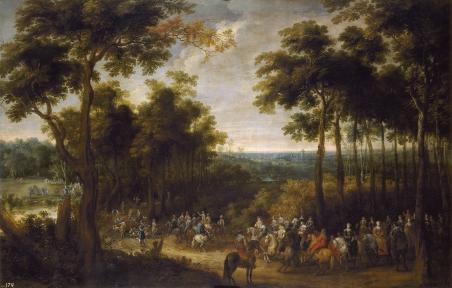 Peter Snayers: Cacería del Cardenal Infante. Madrid, Museo Nacional del Prado.