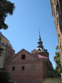 Exterior de la Capilla del Cristo de la Venerable Orden Tercera de San Francisco el Grande, Madrid.
