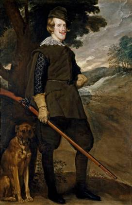 Diego Rodríguez de Silva y Velázquez: Felipe IV de cazador. Madrid, Museo Nacional del Prado.