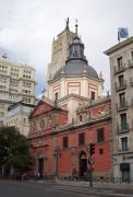 Exterior de la Iglesia de la Calatravas, Madrid.