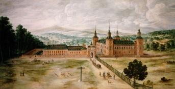 Jusepe Leonardo: Vista del Palacio Real de El Pardo, ca. 1630. Madrid, Patrimonio Nacional.