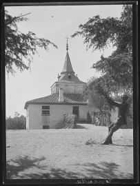Anónimo: La Torrecilla en la Casa de Campo de Madrid, ca. 1932. Servicio Fotográfico Municipal de Madrid.