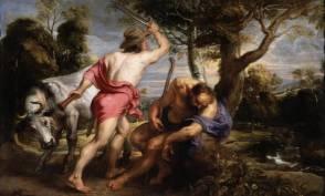 Pedro Pablo Rubens y taller: Mercurio y Argos. Madrid, Museo Nacional del Prado.
