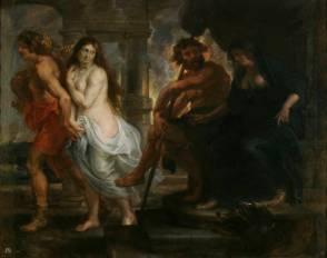 Pedro Pablo Rubens y taller: Orfeo y Eurídice. Madrid, Museo Nacional del Prado.