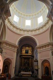Interior de la cúpula del Real Monasterio de San Isabel. Foto Jesús C.V.