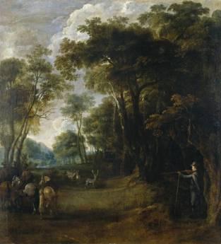Peter Snayers: Cacería de Felipe IV. Madrid, Museo Nacional del Prado.