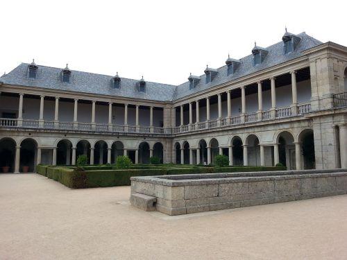 Corredores del Sol o Galería de Convalecientes del Monasterio de El Escorial.