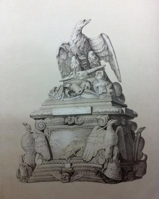 Acevedo: La Apoteosis de Claudio. Publicado por Villa-amil y Castro (1875), pp. 22.