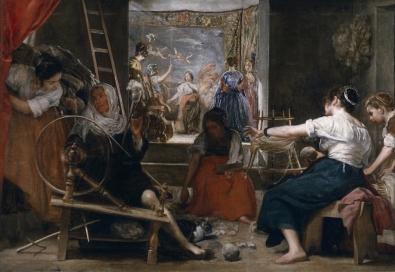 2. Diego de Silva y Velázquez: Las Hilanderas, óleo sobre lienzo, 164x250 cm. Madrid, Museo Nacional del Prado, nº inv. 1173.