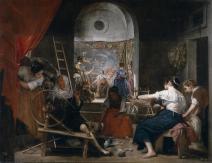 5. Diego de Silva y Velázquez: Las Hilanderas, óleo sobre lienzo, 223x293 cm. Madrid, Museo Nacional del Prado, nº inv. 11773.