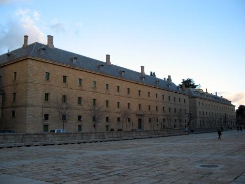 Vista de la Primera y Segunda Casa de Oficios.