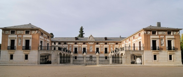 Exterior de la Casita del Labrador de Aranjuez.