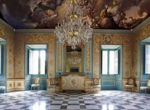 Interior de la Casita del Príncipe de El Pardo.