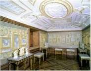 Interior de la Casita del Príncipe de El Escorial.
