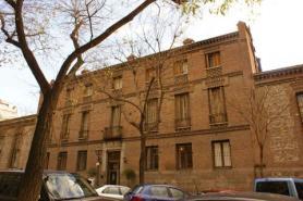 Imagen de la Fábrica de Tapices de San Barbara, Madrid.