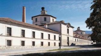 La fábrica de Cristales de La Granja de San Ildefonso, Segovia.