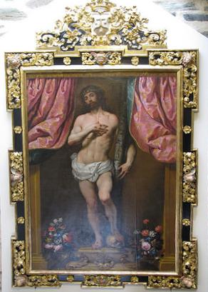 Sebastián Herrera Barnuevo, atribuído: Cristo de los Dolores: Convento de Carmelitas Descalzas de Alba de Tormes.