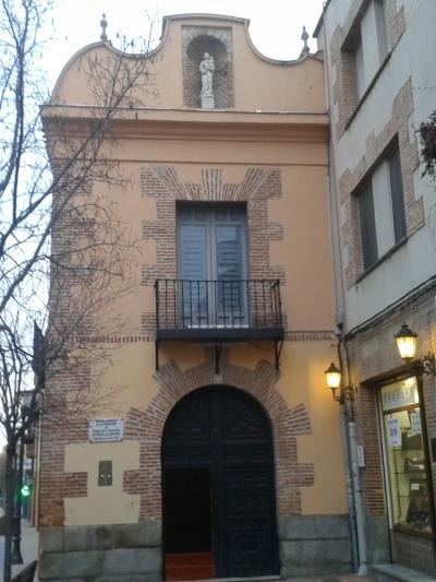 Entrada principal del Hospitalillo de San José en Gerafe.