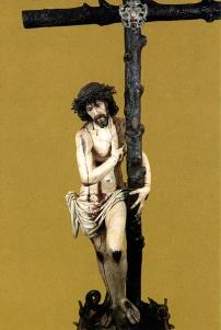 Domingo de Rioja: Cristo de las Victorias. Serradilla, Cáceres.