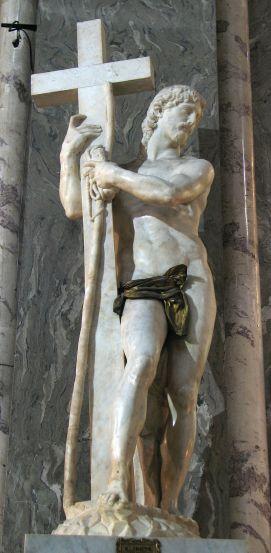 Miguel Ángel: Cristo Triunfante. Santa María Sopra Minerva, Roma.