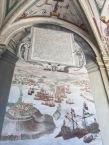 Vista de la Batalla de Navarino. Palacio del Viso del Marqués.