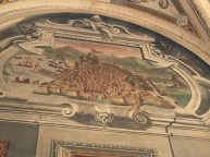 Vista de la Ciudad de Argelia. Palacio del Viso del Marqués.