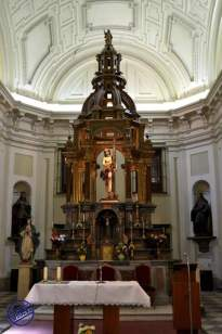 Baldaquino en la Capilla de la Venerable Orden Tercera. Fotografía de Jesús C.V.