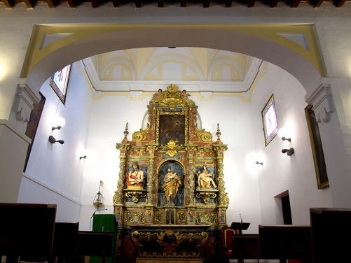 Interior de la capilla del Hospitalillo de San José en Getafe.