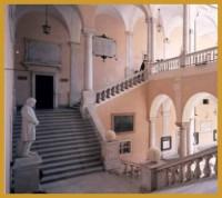 Escalera principal del Palazzo Doria-Tursi.