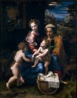 Rafael Sanzio y Giulio Romano: La Perla. Madrid, Museo Nacional del Prado.