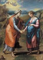 Giulio Romano y Giovanni Penni: La Visitación. Madrid, Museo Nacional del Prado.