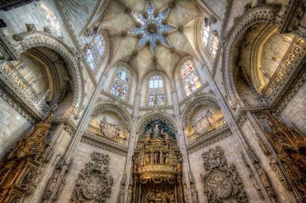 Diego de Siloe: Capilla del Condestable en la Catedral de Burgos. Foto: marcp_dmoz
