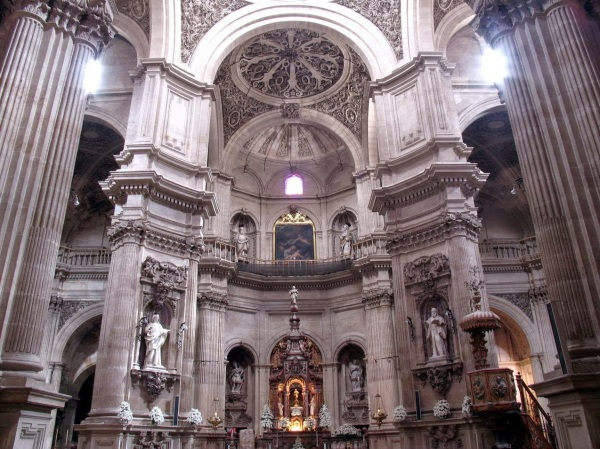 Sagrario de la Catedral de Granada. Foto: La Alacena de las Ideas.