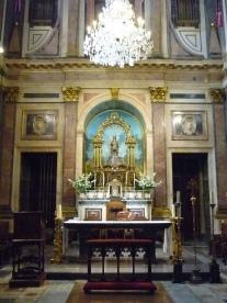 Capilla de la Virgen del Sagrario en la actualidad.