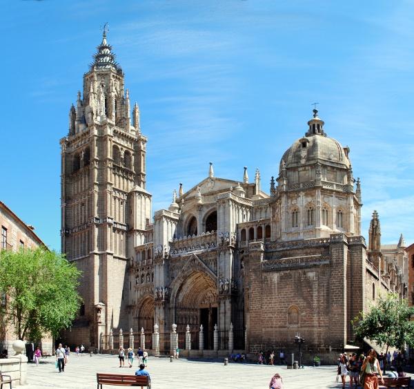 Vista exterior de la Catedral de Toledo