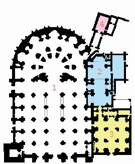Planta de la Catedral de Granada.