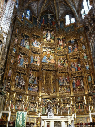 Retablo mayor de la Catedral de Toledo