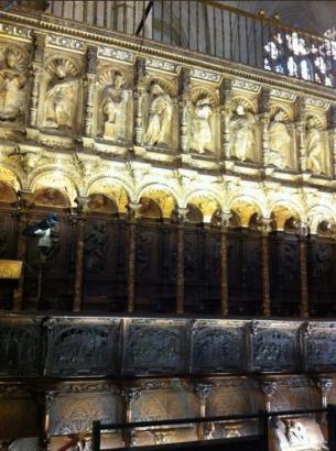Sillería de Coro de la Catedral de Toledo