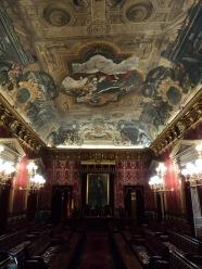 Antonio Palomino: Bóveda del Salón de plenos de la Casa de la Villa de Madrid.