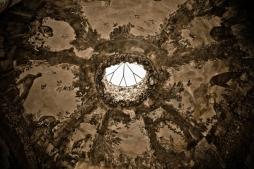 Detalle de la bóveda de la cueva de los Jardines de Boboli.