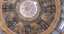 Juan Vicente de Ribera: Detalle de la Cúpula de las Sagradas Formas. Alcalá de Henares.