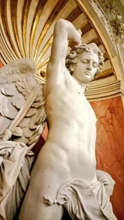 Carlo Nicoli: El Ángel vigilante. Madrid, Palacio de Santoña.