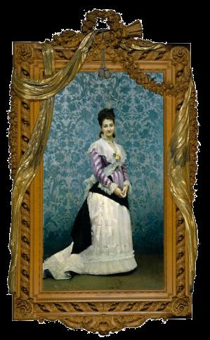 Raimundo de Madrazo: Retrato de Josefa Manzanedo e Intentas de Mitjans, II marquesa de Manzanedo. Madrid, Museo Nacional del Prado.